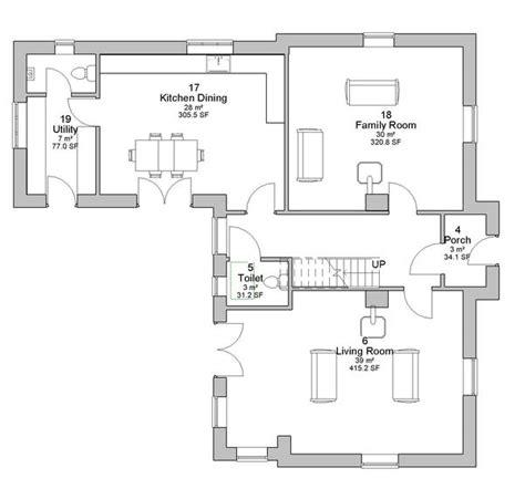 irish cottage floor plans house plans 166 annalee irish 5 bed home design floorplan ie