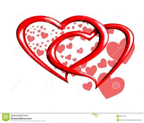 valentines de hearts stock images image 3911164