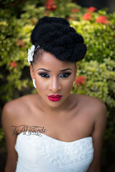show a picture of beautyful hair style ghana weaving striking natural hair looks for the 2015 bride t alamode