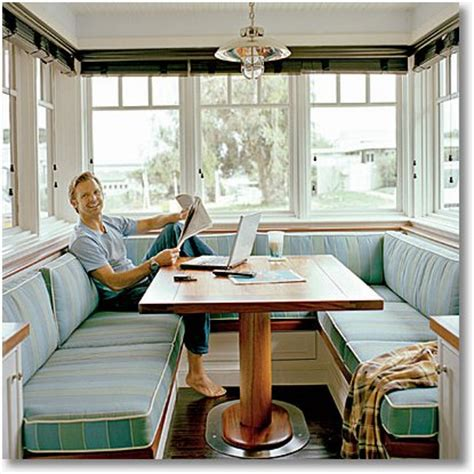 Kitchen Table Booth Seating Banquette Booth Or Built In Cool Kitchen Table Seating