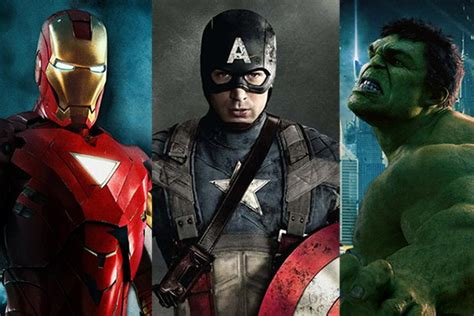 marvel ironman and hulk in film marvel unveils phase three how the studio trumped warner
