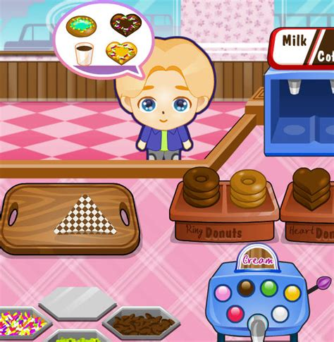 los juegos de cocinar juego de cocinar pasteles y donuts juegos