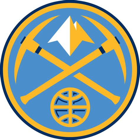 michael weinstein nba logo redesigns denver nuggets image denver nuggets alternate logo 1 gif basketball