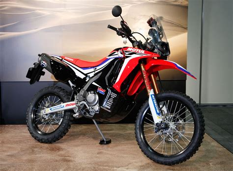 honda crf 250 honda reveals crf250 rally prototype