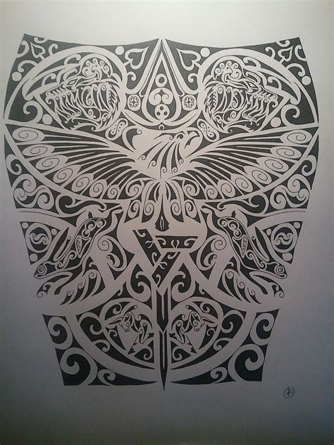 Assassin S Creed Sleeve Design By Bloodlesssnow On Deviantart Assassins Creed Designs