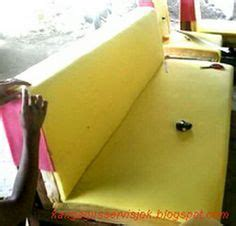 Spon Busa Kursi proses pemasangan spon busa pada rangka kursi sofa 1d