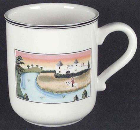 design naif mug villeroy boch design naif man on horse mug 6047123 ebay