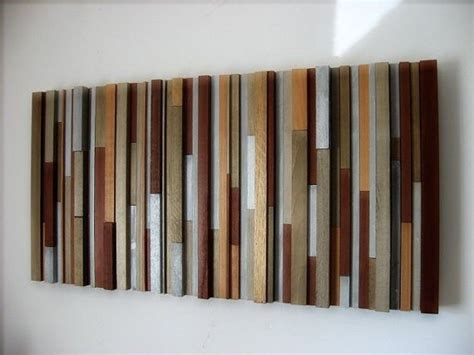 modern wood wall decor handmade wood wall sculpture by modern rustic llc