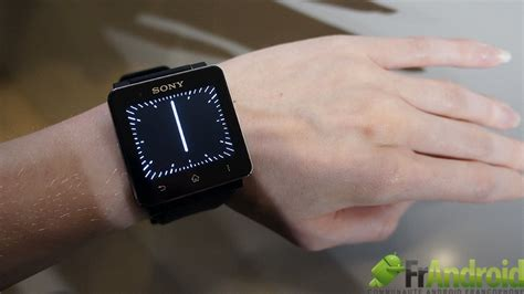 Sony Android Smartwatch 2 montre android sony smartwatch 2