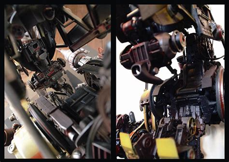 Kaos Custom Mechanic robot 69 drillbot on behance