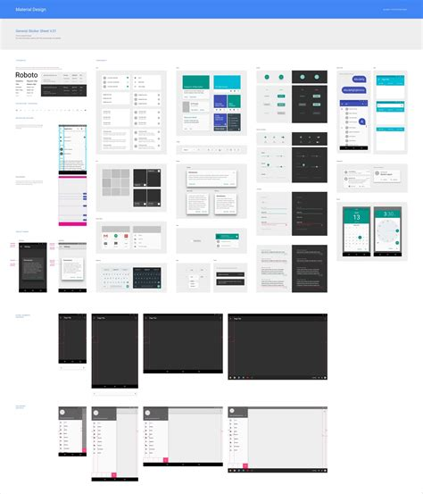 android templates for sketch android 42 gui template sketch