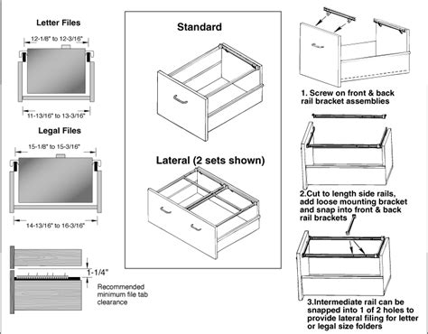 Cad Drawer by Drafting Services Casework File Drawer Clearances
