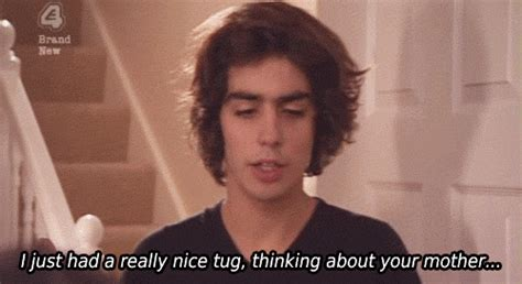 Lion Curtains 50 Of The Funniest Inbetweeners Moments Wow247