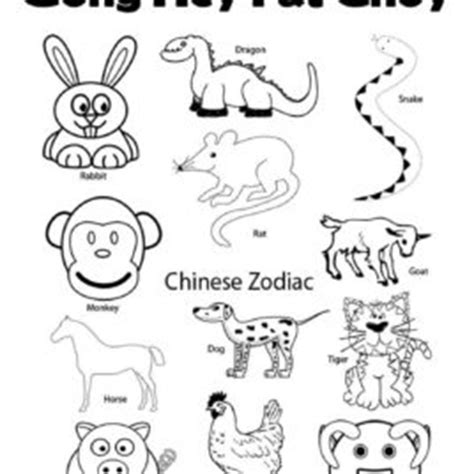 search results for chinese new year zodiac coloring pages search results for 12 chinese zodiac animals page 2