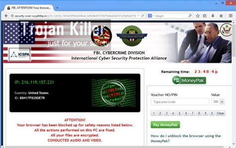 how to remove the fbi virus fbi moneypak ransomware virus