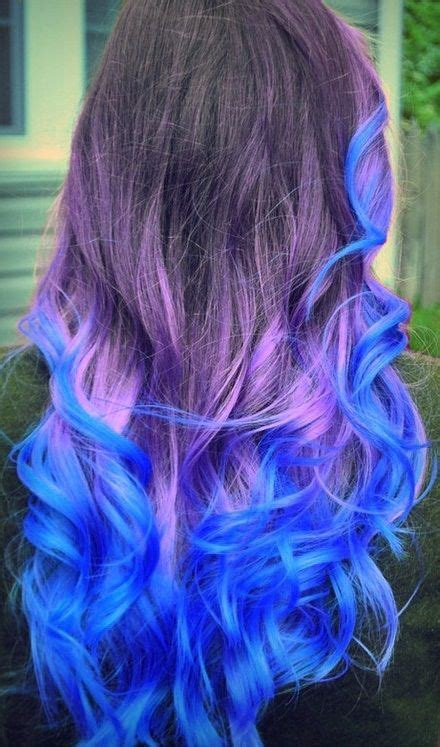 dip dyed colorful hairstyles  haircut web