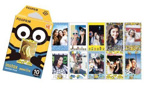 Fujifilm Instax Mini 8 Kamera Minion Limited Edition fujifilm instax mini minion combo set dmf dm3 free