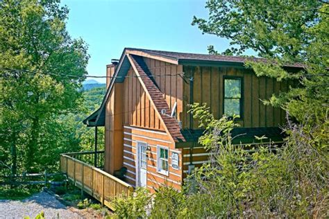 Affordable Pigeon Forge Cabin Rentals by Rustic Smoky Mountain Cabin Above The Clouds