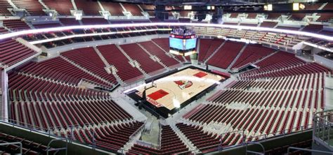 layout of kfc yum center kfc yum center populous