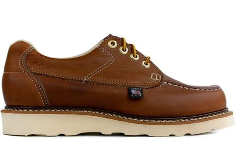 thorogood oxford work shoes thorogood moc toe oxford non safety 814 4100 new brown