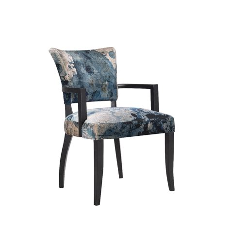 Timothy Oulton Mimi Dining Chair With Arms Black Oak Legs Dining Chairs With Arms Uk