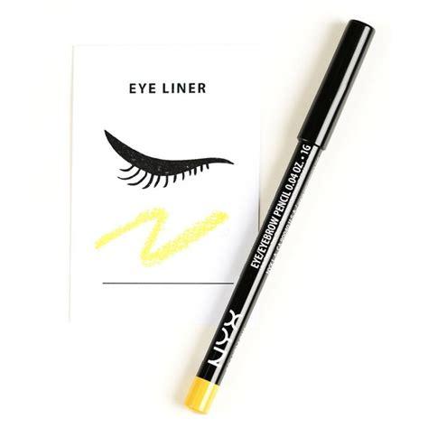 Nyx Eyebrow Gel Black Noir Ebg05 nyx eye eyebrow pencil slim eye pencil beautykitshop