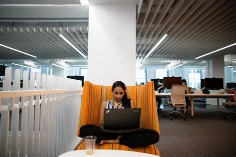 Office Space In Nyc More New York Companies Experiment With Innovative Office
