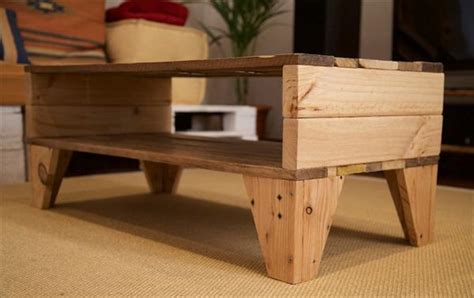 Easy Pallet Coffee Table Easy Handmade Pallet Coffee Table Wooden Pallet Furniture