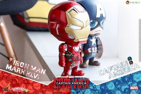 Figure Cosb Aby Cosb 253 Captain America Civil War Black Panther toys cosb324 captain america civil war iron xlvi cosbaby l bobble