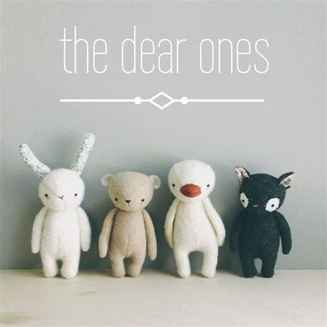 Handmade Stuffed Animal Sewing Patterns - the dear ones amigurumi sock animals
