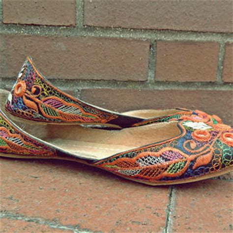 bohemian flats shoes bohemian flats vintage 70 s flats from