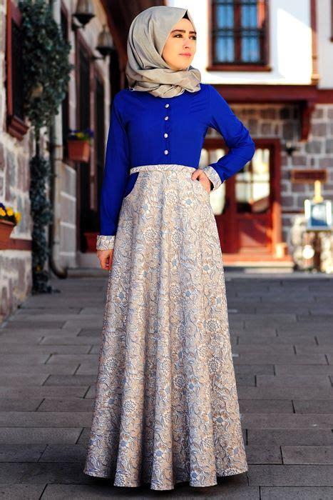 Moda Baju Gamis Muslim Wanita 9 model baju muslim wanita turki terbaru mewah elegan