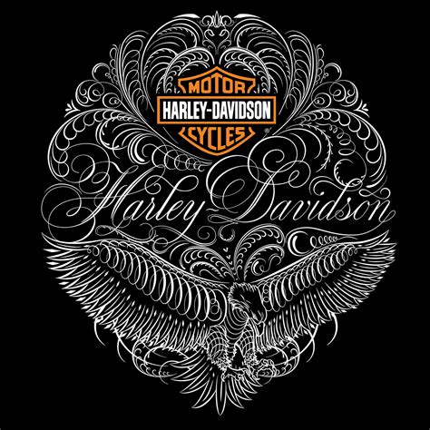 Harley Davidson Designs by Harley Davidson 174 Apparel On Behance Script Calligraphy