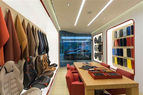 ferrari showroom naza italia opens doors to the second ferrari showroom in
