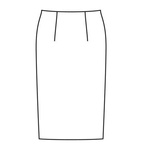 skirt template basic skirt sloper sewing patterns burdastyle