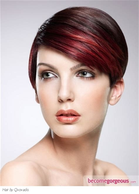 become gorgeous short hair gallery pictures pictures hair highlights ideas stylish red hair