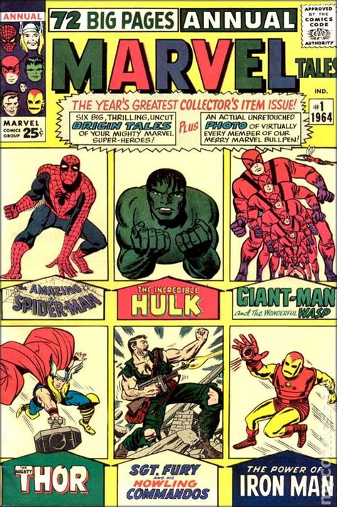 Marvel Big Book Of by Marvel Tales 1964 Marvel Comic Books