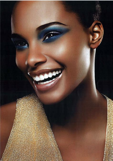 Black Afrika4 the rise of the tanned and skin makeup le luxe