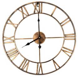 Art Wall Clock 18 5 Inch 3d Large Iron Retro Decorative Wall Clock Big