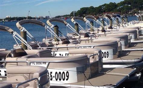 panama city beach pontoon rentals pontoon boat rentals in panama city beach florida