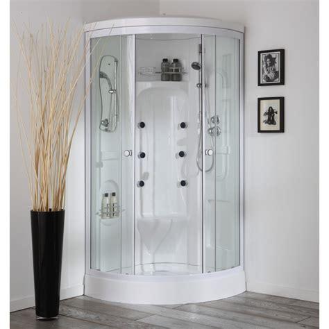 box doccia idromassaggio sauna doccia multifunzione economica con sauna 90x90 cm modello
