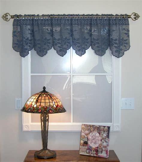 crochet valance curtains crochet curtain patterns valances handavinna pinterest