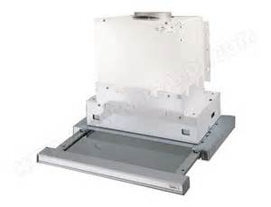 roblin declic 610t 6102100 pas cher hotte tiroir roblin