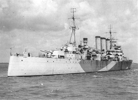 st johns river boat rs hms norfolk british heavy cruiser ww2