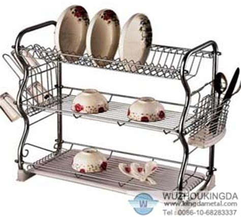 3 tier dish rack dish rack wuzhou kingda wire cloth co ltd