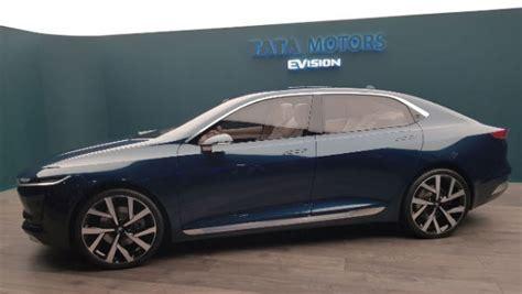 e visio 2018 geneva motor show tata e vision sedan concept
