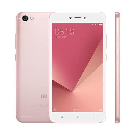 blibli xiaomi redmi note 5a jual xiaomi redmi note 5a smartphone rose gold 16gb 2gb