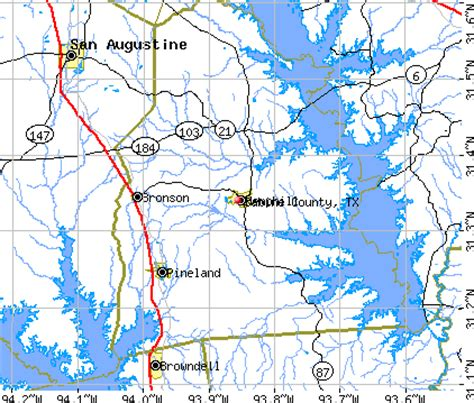 sabine county texas map sabine county texas detailed profile houses real estate cost of living wages work