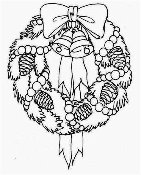 coloring pages of christmas reefs desenhos de guirlandas de natal para colorir toda atual