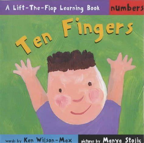 Speeds Along A Learning Lift The Flap Book ten fingers numbers lift the flap learning 9781856024259 slugbooks